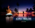 Azuria Fireglass for Fireplaces